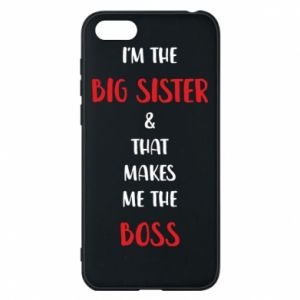 Etui na Huawei Y5 2018 I'm the big sister