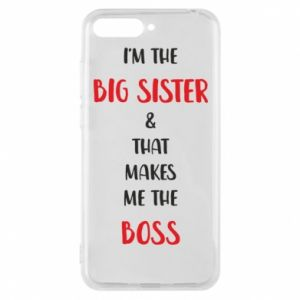 Etui na Huawei Y6 2018 I'm the big sister
