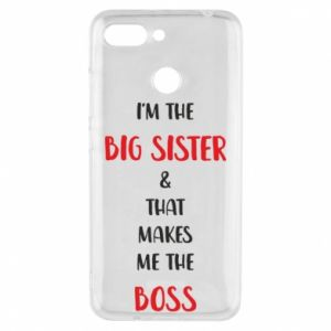 Etui na Xiaomi Redmi 6 I'm the big sister