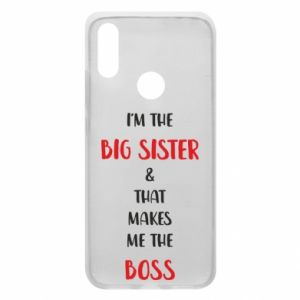 Etui na Xiaomi Redmi 7 I'm the big sister