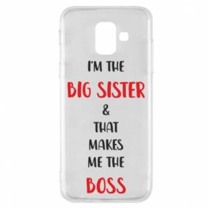 Etui na Samsung A6 2018 I'm the big sister