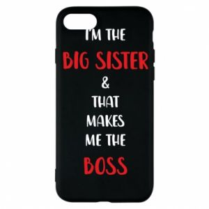 Etui na iPhone 8 I'm the big sister