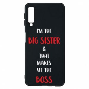 Etui na Samsung A7 2018 I'm the big sister