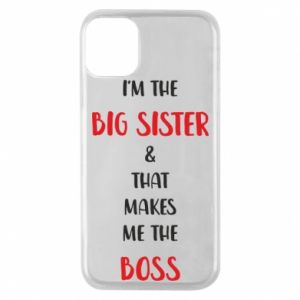Etui na iPhone 11 Pro I'm the big sister