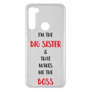 Etui na Xiaomi Redmi Note 8 I'm the big sister