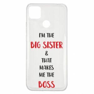 Etui na Xiaomi Redmi 9c I'm the big sister