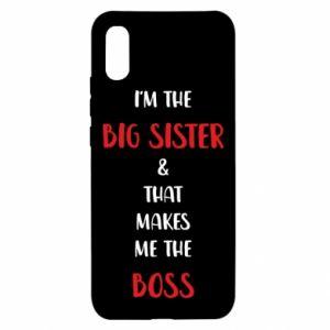 Etui na Xiaomi Redmi 9a I'm the big sister