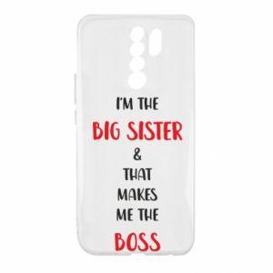 Etui na Xiaomi Redmi 9 I'm the big sister