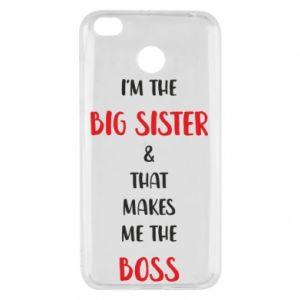 Etui na Xiaomi Redmi 4X I'm the big sister