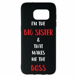 Etui na Samsung S7 EDGE I'm the big sister
