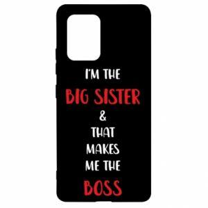 Etui na Samsung S10 Lite I'm the big sister