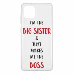 Etui na Samsung Note 10 Lite I'm the big sister