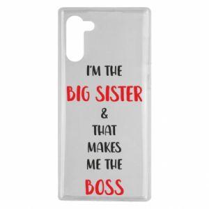 Etui na Samsung Note 10 I'm the big sister