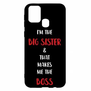 Etui na Samsung M31 I'm the big sister