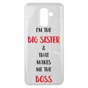Etui na Samsung J8 2018 I'm the big sister