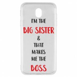 Etui na Samsung J7 2017 I'm the big sister
