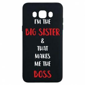 Etui na Samsung J7 2016 I'm the big sister