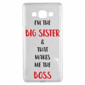 Etui na Samsung A5 2015 I'm the big sister