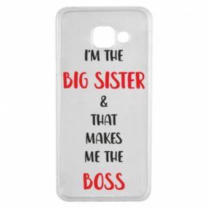 Etui na Samsung A3 2016 I'm the big sister