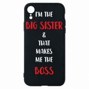 Etui na iPhone XR I'm the big sister