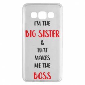 Etui na Samsung A3 2015 I'm the big sister