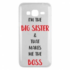 Etui na Samsung J3 2016 I'm the big sister