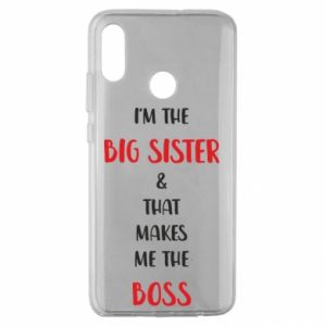 Etui na Huawei Honor 10 Lite I'm the big sister