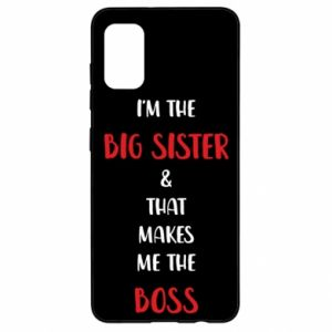 Etui na Samsung A41 I'm the big sister