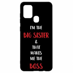 Etui na Samsung A21s I'm the big sister