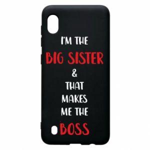 Etui na Samsung A10 I'm the big sister
