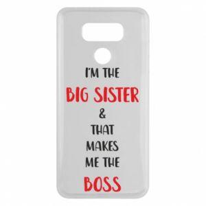 Etui na LG G6 I'm the big sister