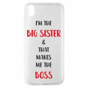 Etui na Huawei Y5 2019 I'm the big sister