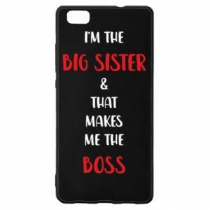 Etui na Huawei P 8 Lite I'm the big sister