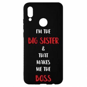Etui na Huawei P Smart 2019 I'm the big sister