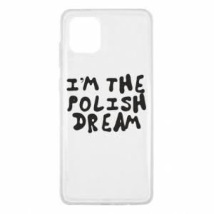 Etui na Samsung Note 10 Lite I'm the Polish dream