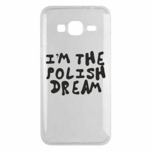 Phone case for Samsung J3 2016 I'm the Polish dream