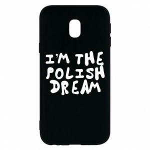 Phone case for Samsung J3 2017 I'm the Polish dream