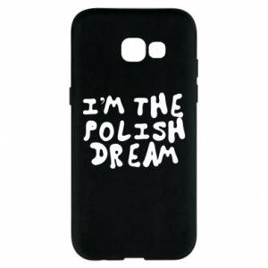 Phone case for Samsung A5 2017 I'm the Polish dream