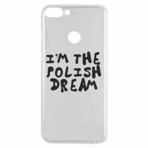 Phone case for Huawei P Smart I'm the Polish dream