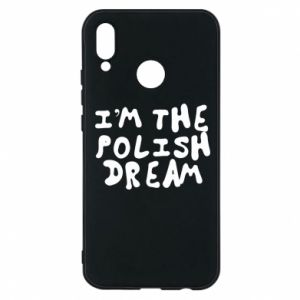 Etui na Huawei P20 Lite I'm the Polish dream