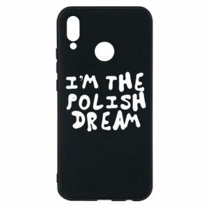 Phone case for Huawei P20 Lite I'm the Polish dream