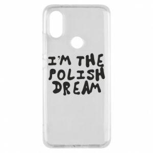Phone case for Xiaomi Mi A2 I'm the Polish dream