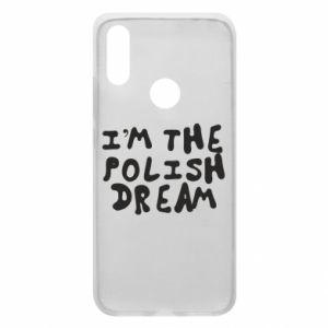 Phone case for Xiaomi Redmi 7 I'm the Polish dream
