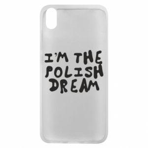 Phone case for Xiaomi Redmi 7A I'm the Polish dream