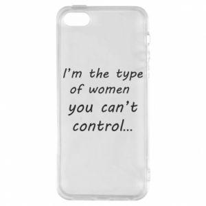 Etui na iPhone 5/5S/SE I'm the type