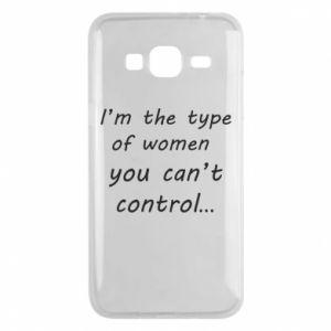Etui na Samsung J3 2016 I'm the type