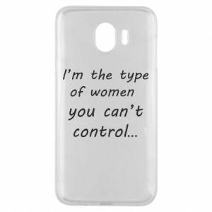 Etui na Samsung J4 I'm the type