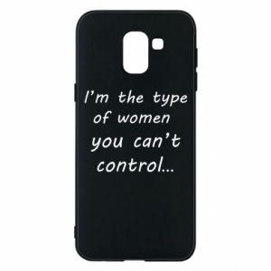Etui na Samsung J6 I'm the type