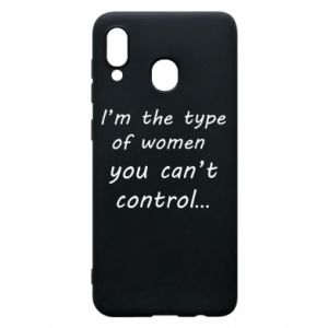 Etui na Samsung A20 I'm the type