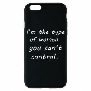 Etui na iPhone 6/6S I'm the type